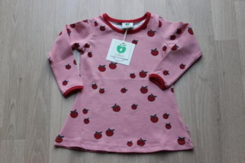 jurk met rode appeltjes