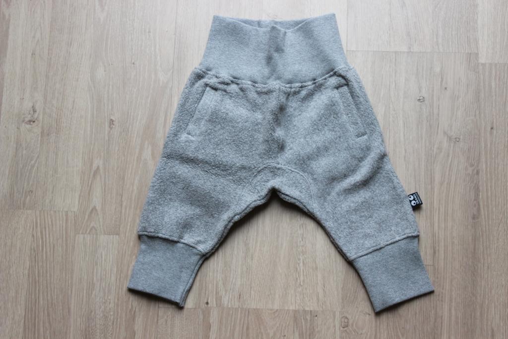 baby pants grijs