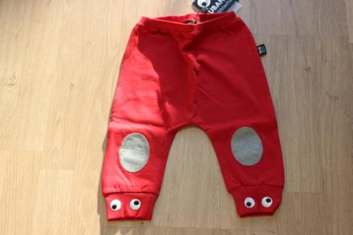 broekje baby rood