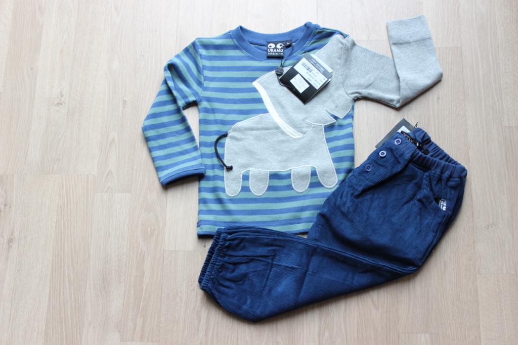 set elephant blauw