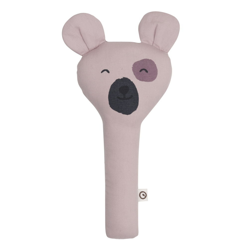 Teddy rattle roze