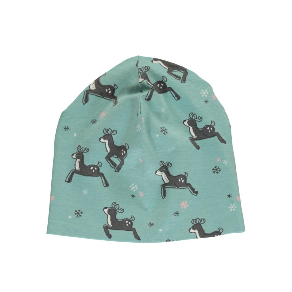 hat velours reindeer