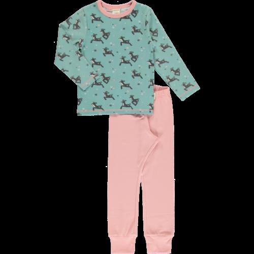 pyjama dashing reindeer