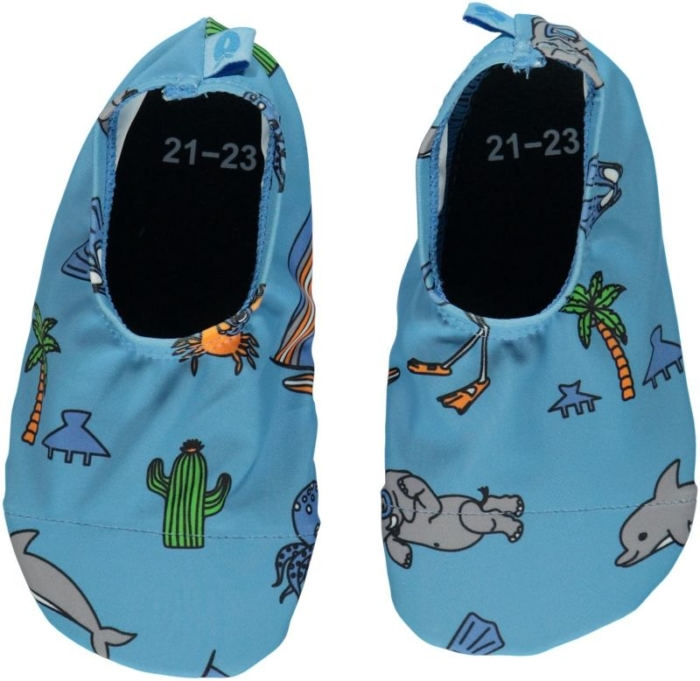 swim shoes blauw
