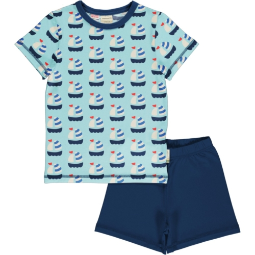 PYJAMA SET SS Sailboat