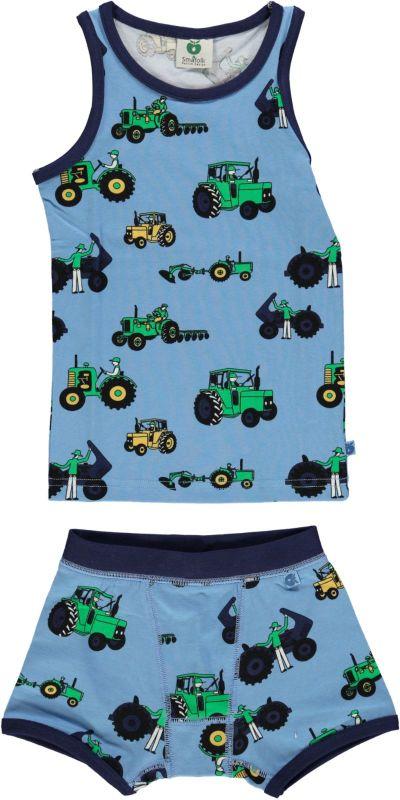 Underwear tractor