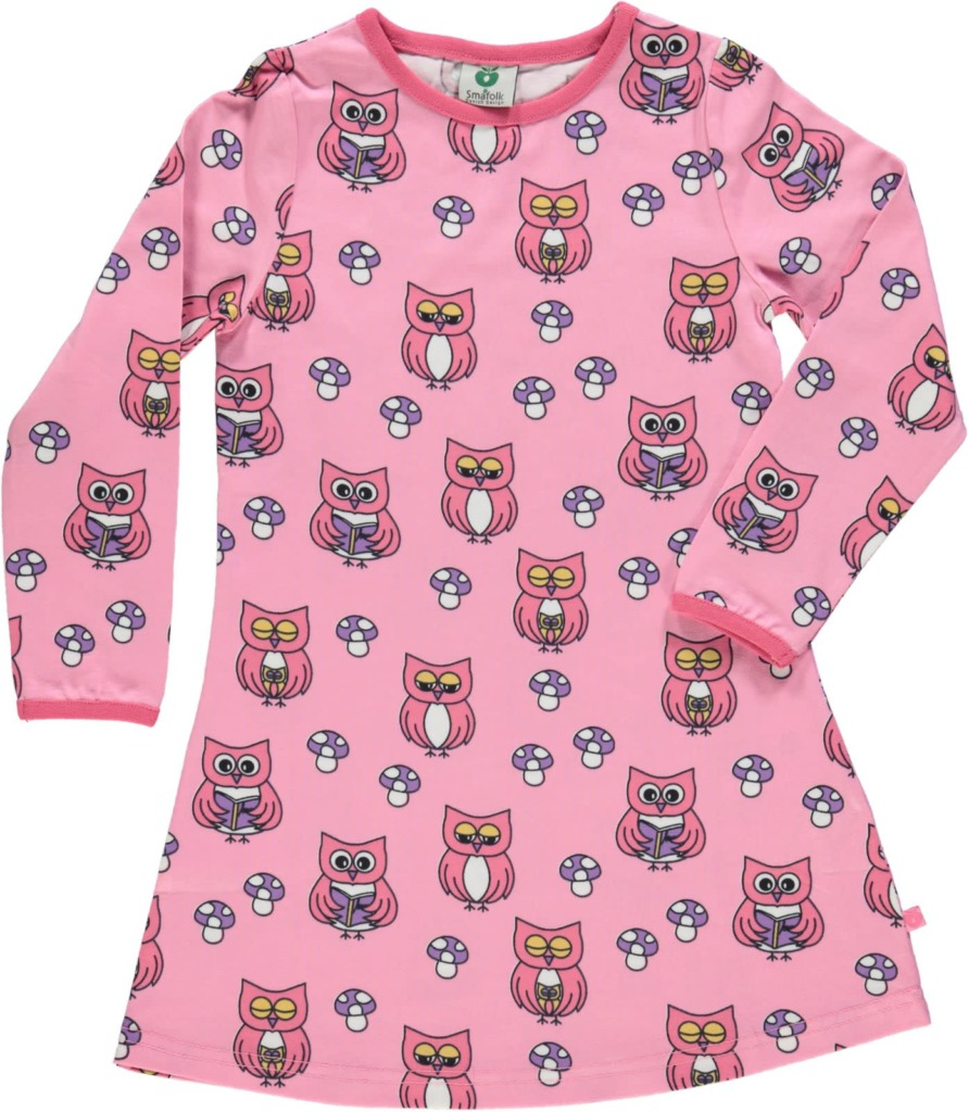 Dress LS. Owl