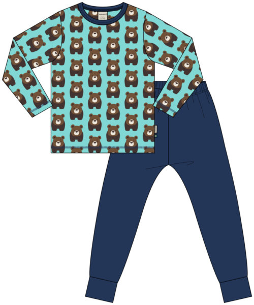 Pyjama Set LS BEAR