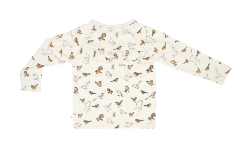 T-shirt bird print